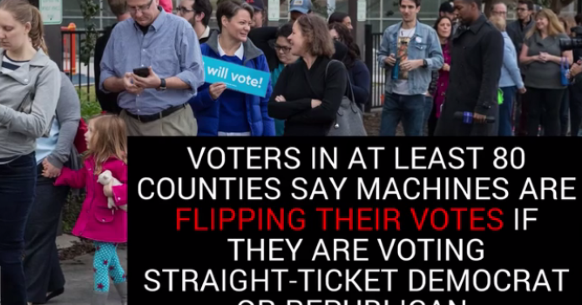 Photo of Texas: Early Voters Claim Voting Machines Altering Their Ballots