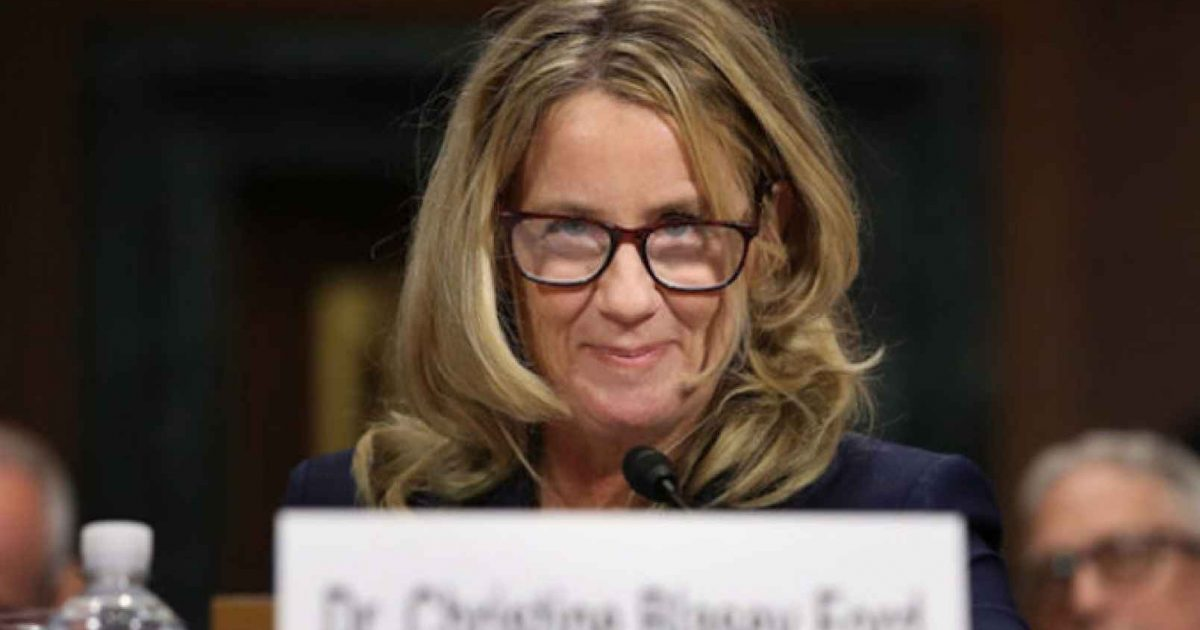 Photo of Sorry For Blurting It Out, But Christine Blasey Ford Is A Liar!