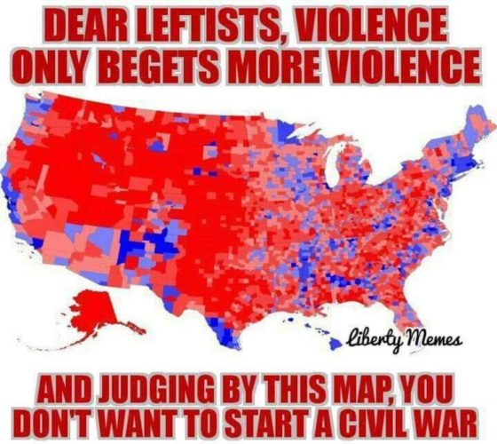 """Photo of James Woods: """"I guess they want civil war… would not end well for them"""""""