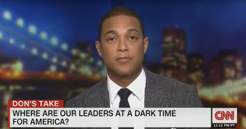 Photo of VIDEO — CNN's Don Lemon: 'The Biggest Terror Threat in This Country is White Men'