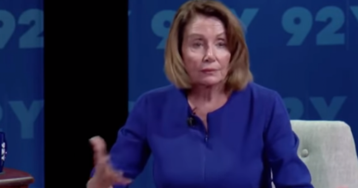 "Photo of Pelosi: When We Take Over, If You Don't ""Share Our View,"" You'll Be ""Collateral Damage"""