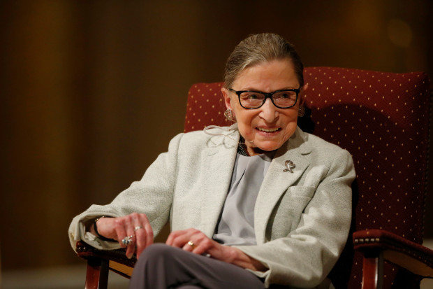 Photo of More Evidence of Chemo Brain — Ruth Bader Ginsburg had to be reminded by the audience what the 14th Amendment says