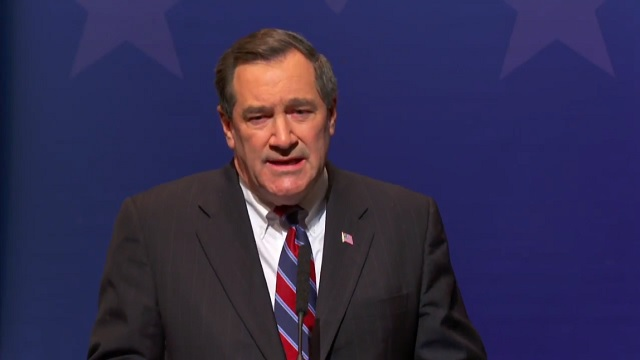 Photo of Indiana Senator Joe Donnelly: 'Our State Director is Indian-American, But He Does An Amazing Job'