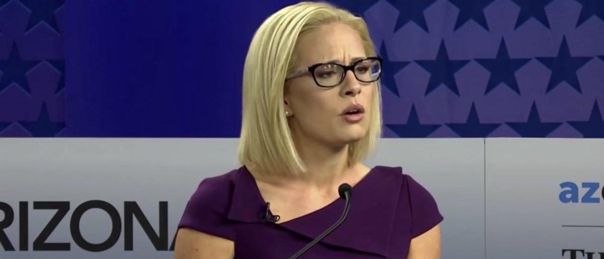 Photo of Arizona Senate race: Democrat Kyrsten Sinema calls stay-at-home moms 'leeches'