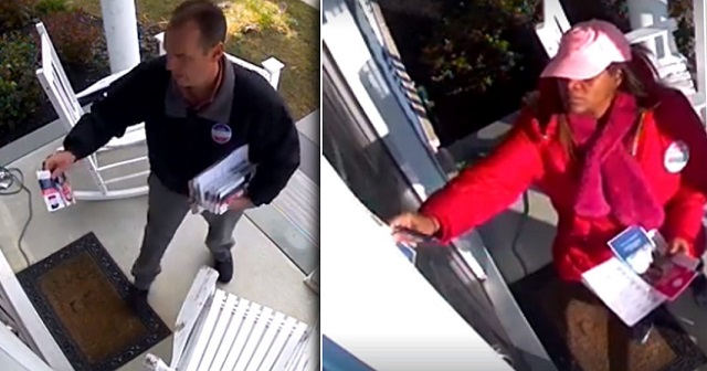 Photo of Democrat Candidates in Delaware, California Caught Stealing Republican Opponents' Campaign Materials