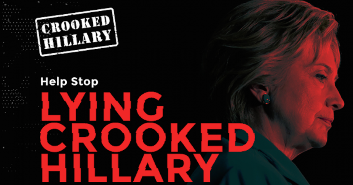 "Photo of ""Crooked"" Hillary Slams Into Concrete Pillar As More Documents Exposing Her Crimes Are Released"