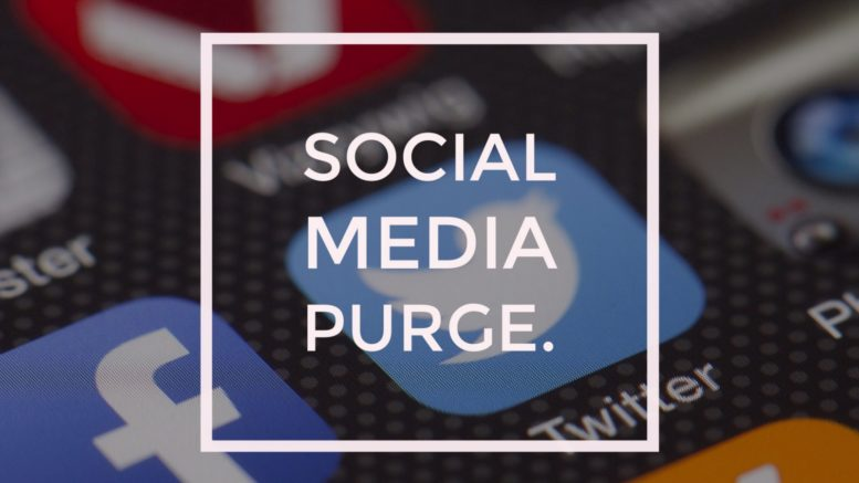 Photo of The Purge Is Here: Hundreds of Political Social Media Pages Deleted Without Warning