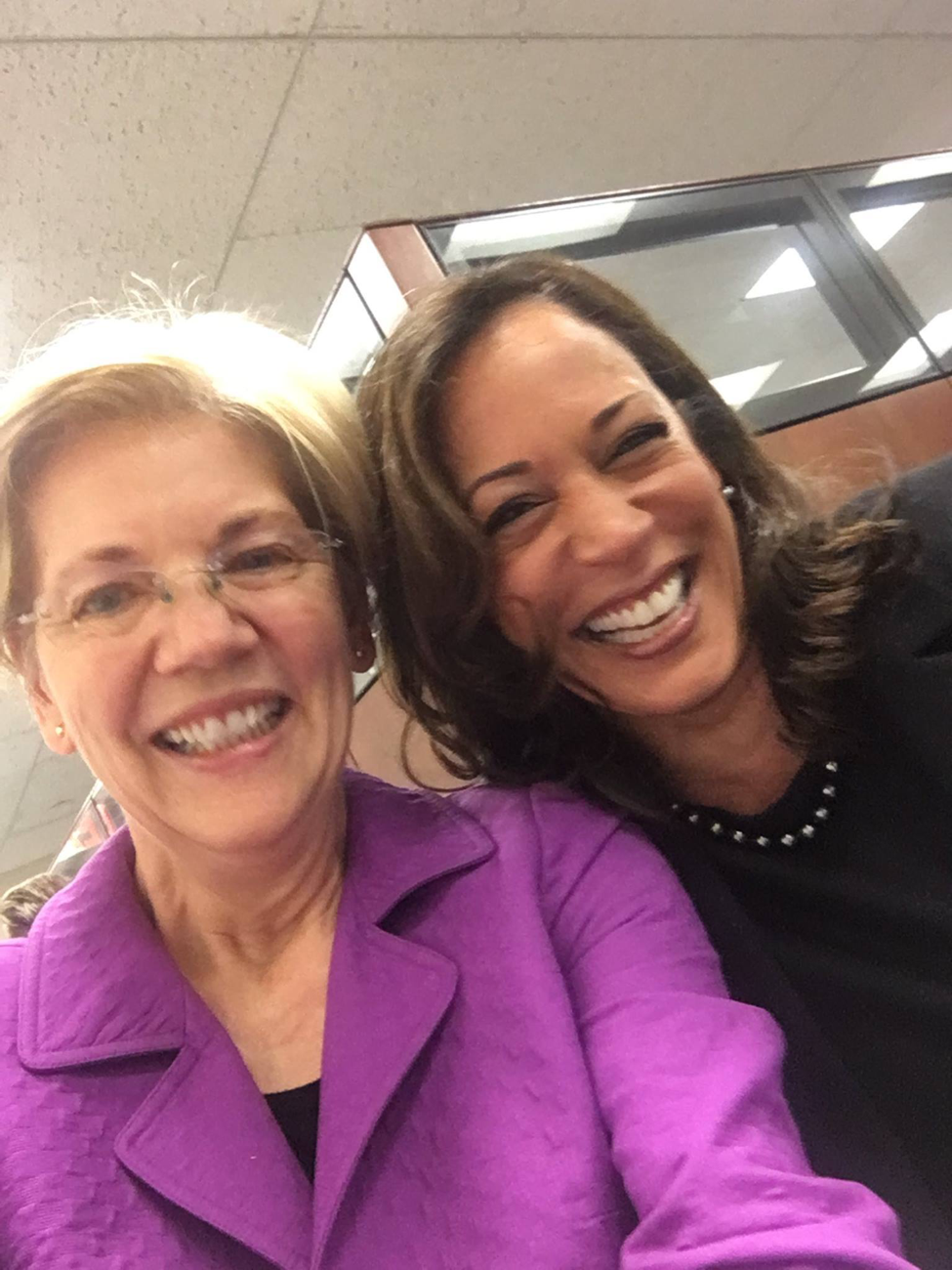 Photo of Kamala Harris & Elizabeth Warren Have Ethics Complaint Filed Against Them In Senate