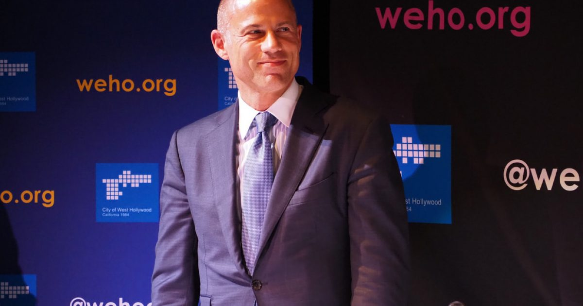Photo of Kavanaugh Accuser's Lawyer, Michael Avenatti, Arrested For Beating His Wife