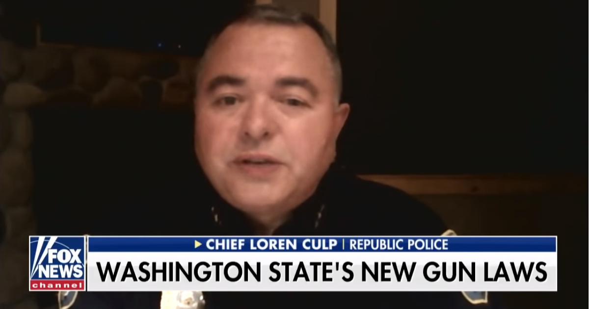 Photo of Constitutional WA police chief lays down law for anti-gunners