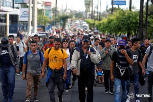 Photo of Invasion: Caravan is almost entirely military-aged males… almost no women or children