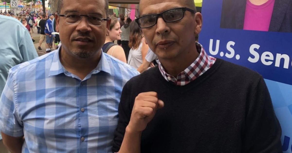 Photo of Photo Captures Keith Ellison Hanging Out With Portland ANTIFA Leader Luis Enrique Marquez