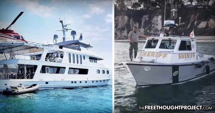 Billionaire Uses $25 Million Yacht to Bring Supplies to Fire Victims But Police Don't Let Him Ashore