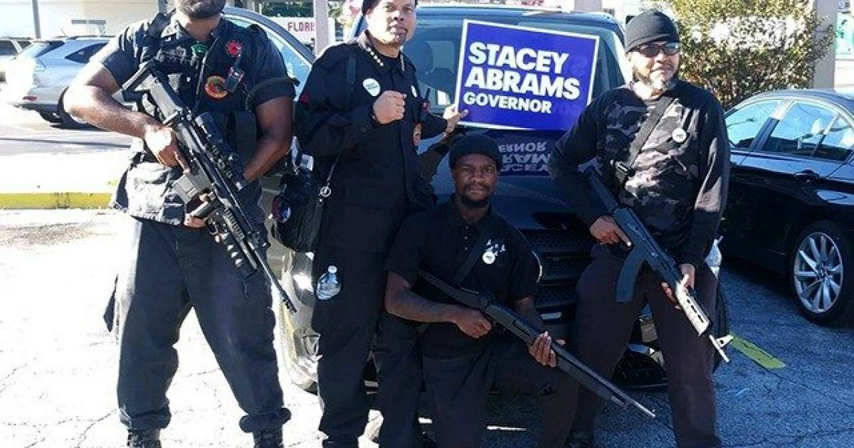 Photo of Armed Black Panthers Stumping for Stacey Abrams? Cyber Crimes? What's Happening in Georgia?