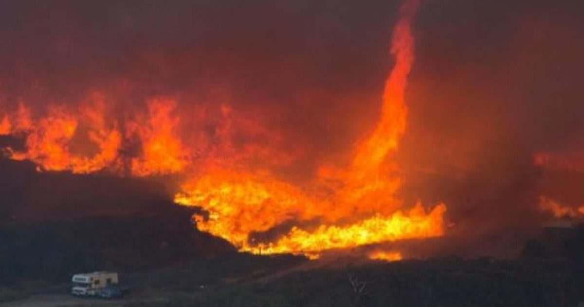 Photo of California Wildfire Torches Nuclear Waste Site: Airborne Toxin Concerns – Media Silent