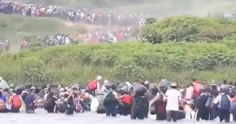Whoa! Wait Till You See The Video Of A Third Wave Of Thousands In Migrant Caravan