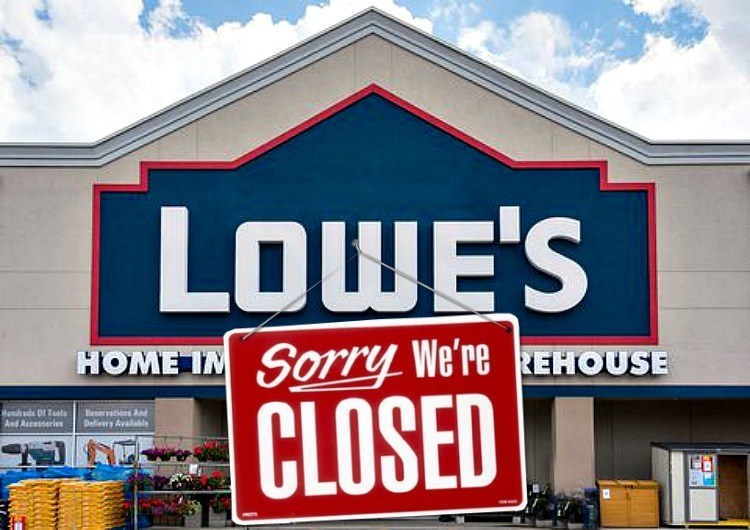 Photo of The Retail Apocalypse Continues — Lowe's is Closing 50 Stores, Here's the List