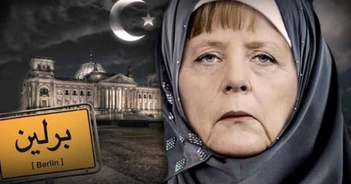 "Photo of German Chancellor Angela Merkel: ""Nations Must Be Ready To Give Up Sovereignty"""