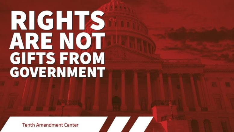 Photo of Fact: Rights Are Not Gifts From Government
