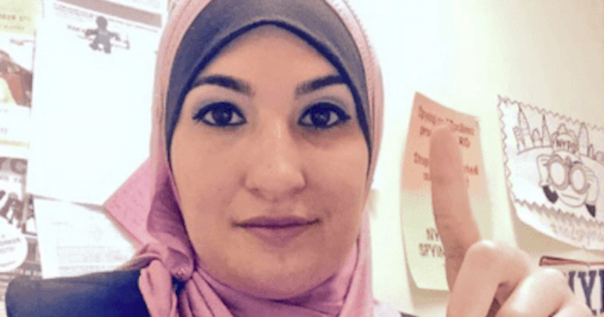 Photo of Money Raised by Linda Sarsour for Synagogue Shooting Victims Went to a Terror-Tied Islamic Center