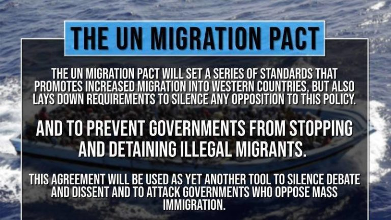 URGENT WARNING from a Canadian Patriot — If Trudeau Signs UN Migrant Pact, Invasion is Coming