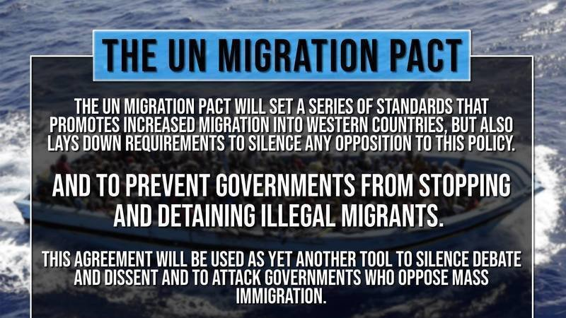 Photo of URGENT WARNING from a Canadian Patriot — If Trudeau Signs UN Migrant Pact, Invasion is Coming