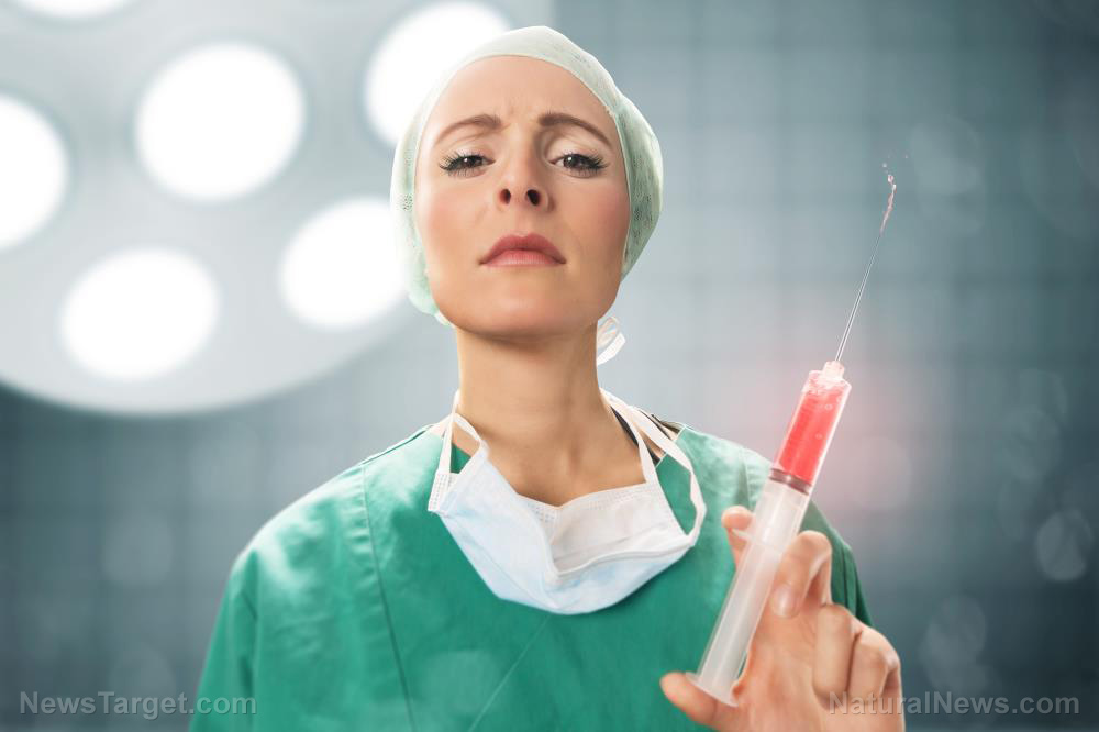 """Photo of New medical treatment imbues older adults with """"young blood""""… vampirism about to become mainstream """"medicine"""""""