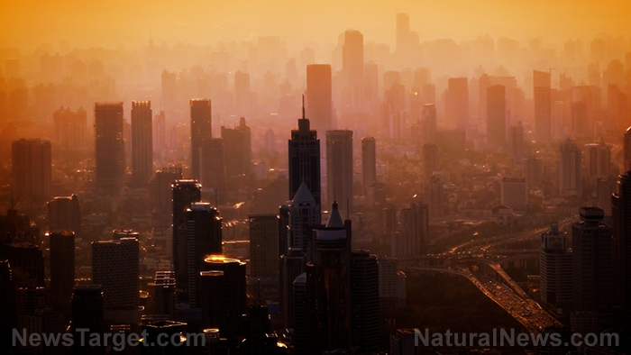 "Photo of TERRAFORMING has begun: ""Global dimming"" is a plot to EXTERMINATE humanity by terraforming the atmosphere with SMOG pollution, killing Earth's food crops and unleashing ecological collapse"