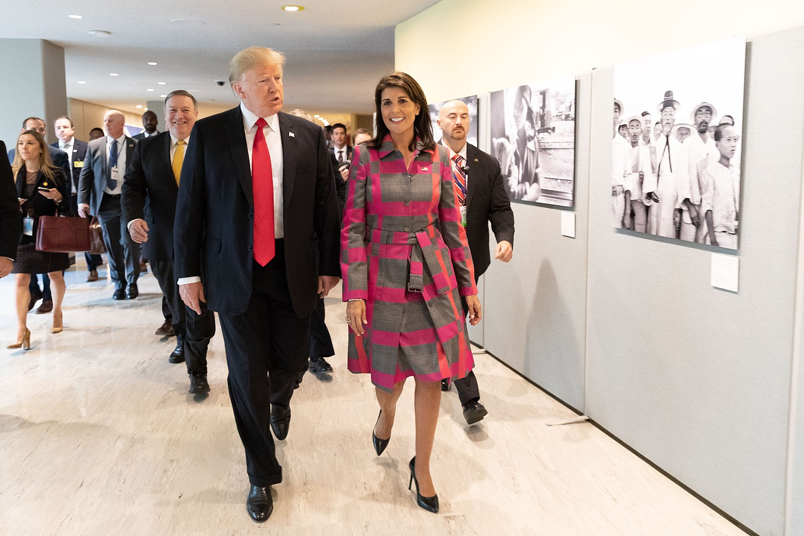 Photo of It Is Being Reported That Trump Is Considering Replacing Mike Pence With Nikki Haley For The 2020 Election