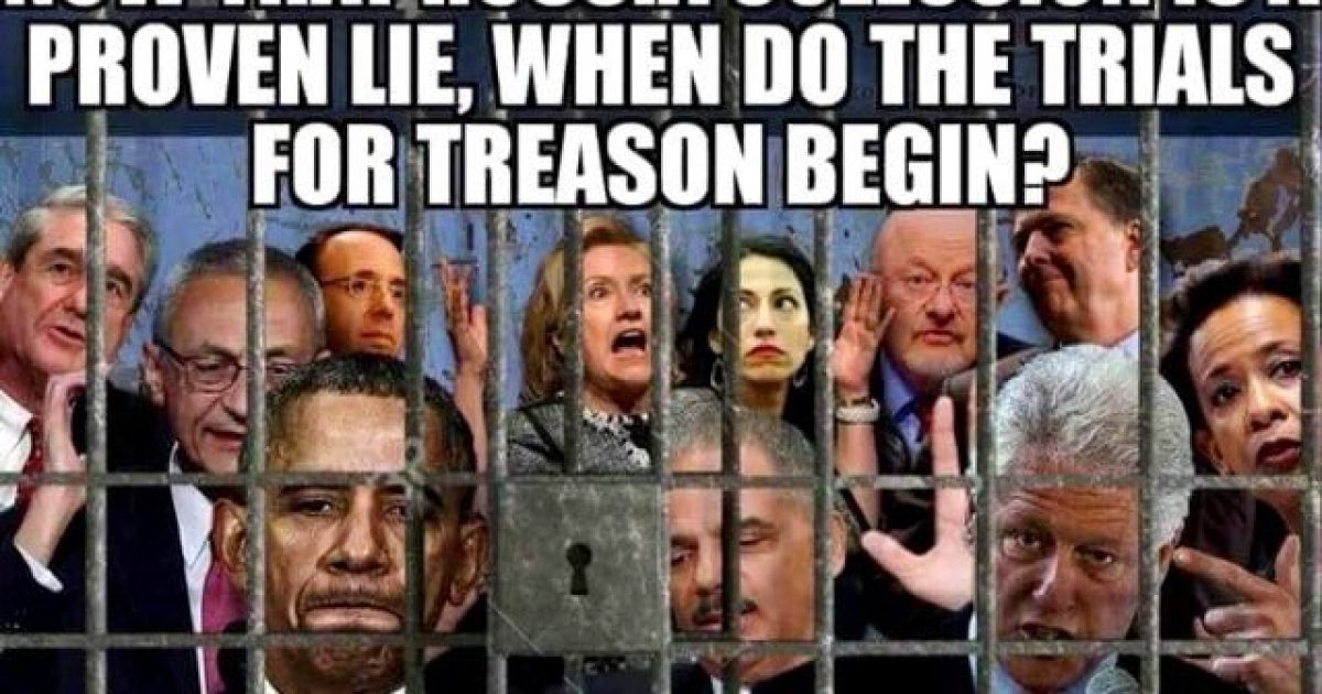 Photo of The Treason Trials Begin When You Say They Do, Mr. President