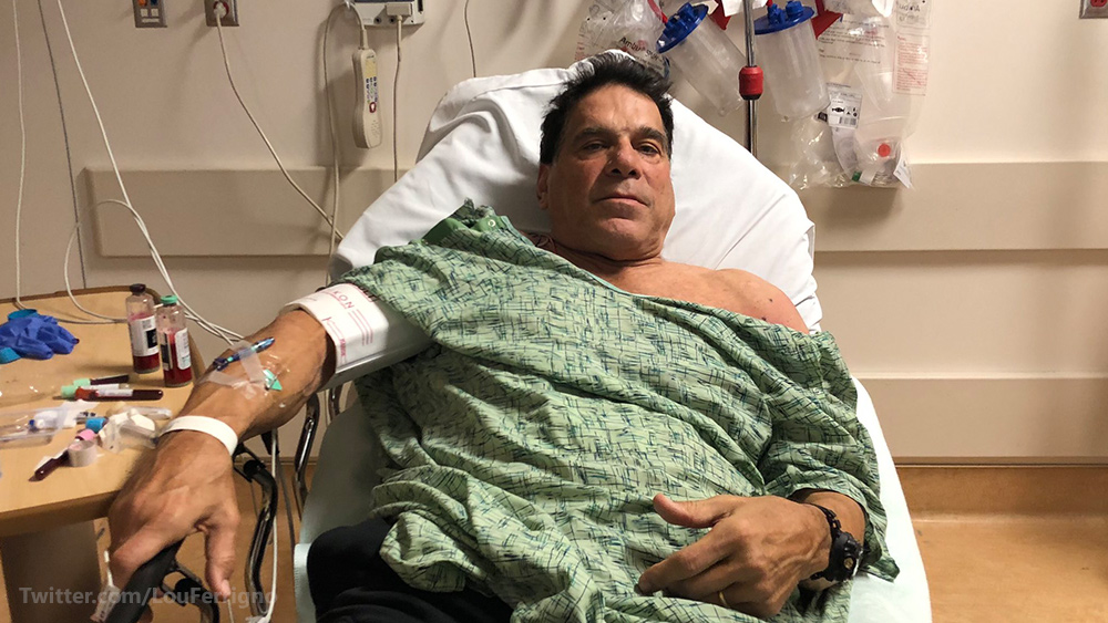 "Photo of ""Incredible Hulk"" Lou Ferrigno hospitalized after vaccination goes horribly wrong"