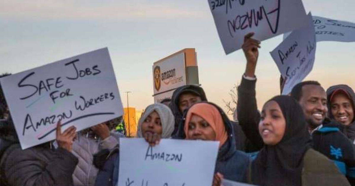 Photo of Minnesota: Muslim Amazon Workers Demand Longer Prayer Times, Less Work