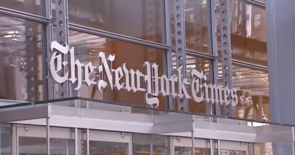 Photo of New York Times Tells Big Banks to Blacklist Gun Purchasers