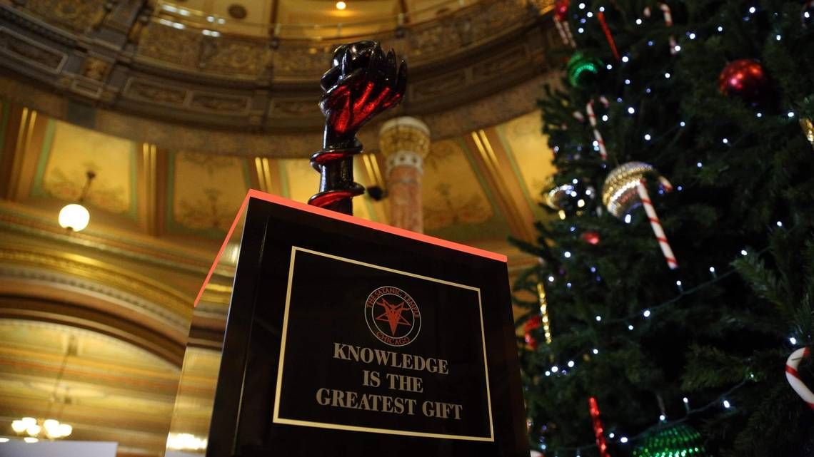 Photo of Satanists Target Christmas: Will Display Statue in Illinois State Capitol Building