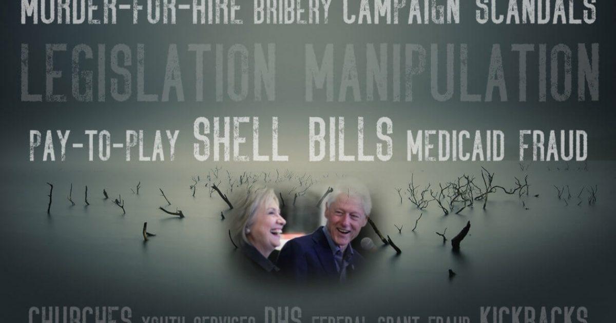 Photo of Arkansas Swamp Bleeds as Clintons Circle The Drain