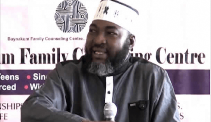 Photo of Muslim cleric: Your husband is meant to be shared with other women