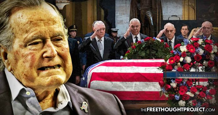Photo of Five Stories the Media Missed While Obsessing Over the Bush Funeral that Cost Taxpayers $500 MILLION