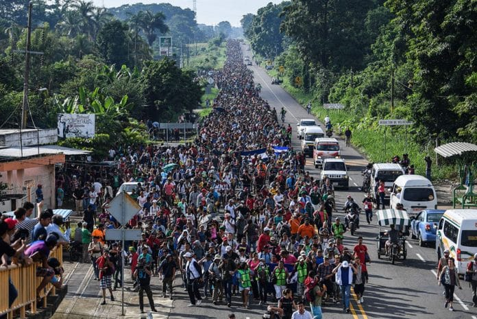 Photo of Caravan of Immigrants: New World Order Chickens Coming Home to Roost
