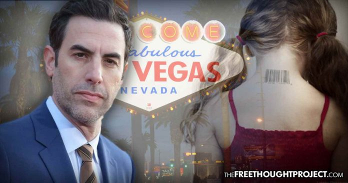Photo of Sacha Cohen Appears to Expose Elite Pedophile Ring While Filming in Vegas — FBI Ignores It