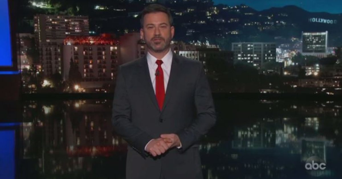 Photo of Insufferable jerk: Watch Jimmy Kimmel mock donors to border wall GoFundMe campaign as 'dopey' meth users