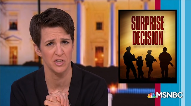 Photo of War-Hungry Hypocrite Rachel Maddow 'Wrote An Entire Book in 2012 Denouncing Illegal US Endless War'