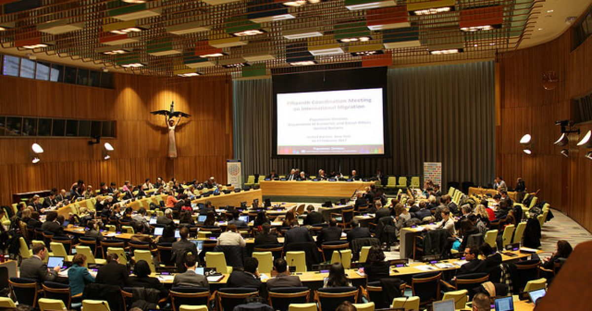 Photo of UN Intergovernmental Conference On Migration Could End National Sovereignty