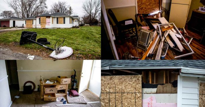 Photo of Michigan: Mom and Children Left Homeless After Cops Destroy House Looking for Non-Existent Suspect