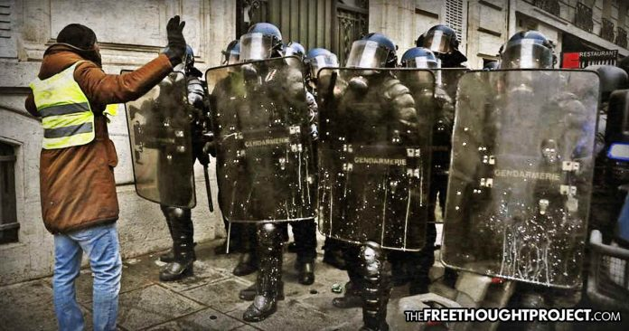 Photo of Game Changer: French Police to Join Yellow Vests After Finding Out Gov't is Ripping Them Off Too