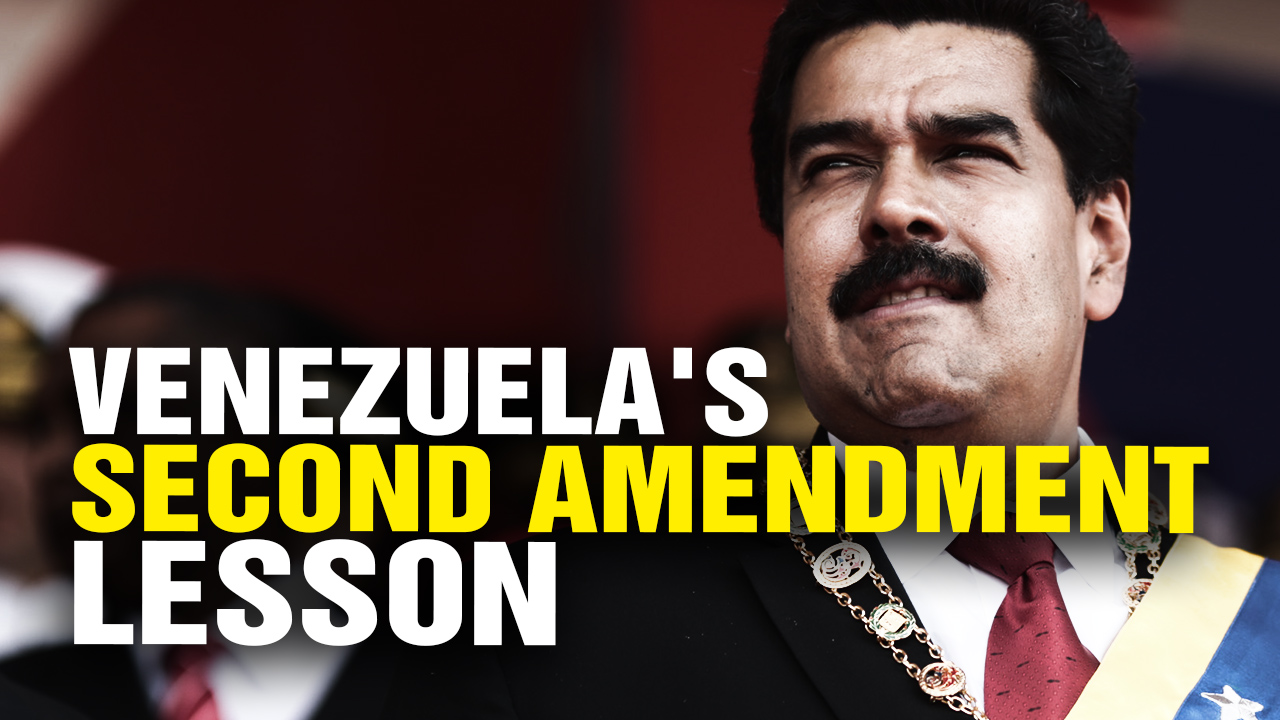 Photo of Venezuela's 2nd Amendment Lesson: You NEVER Let The Government Take Your Guns