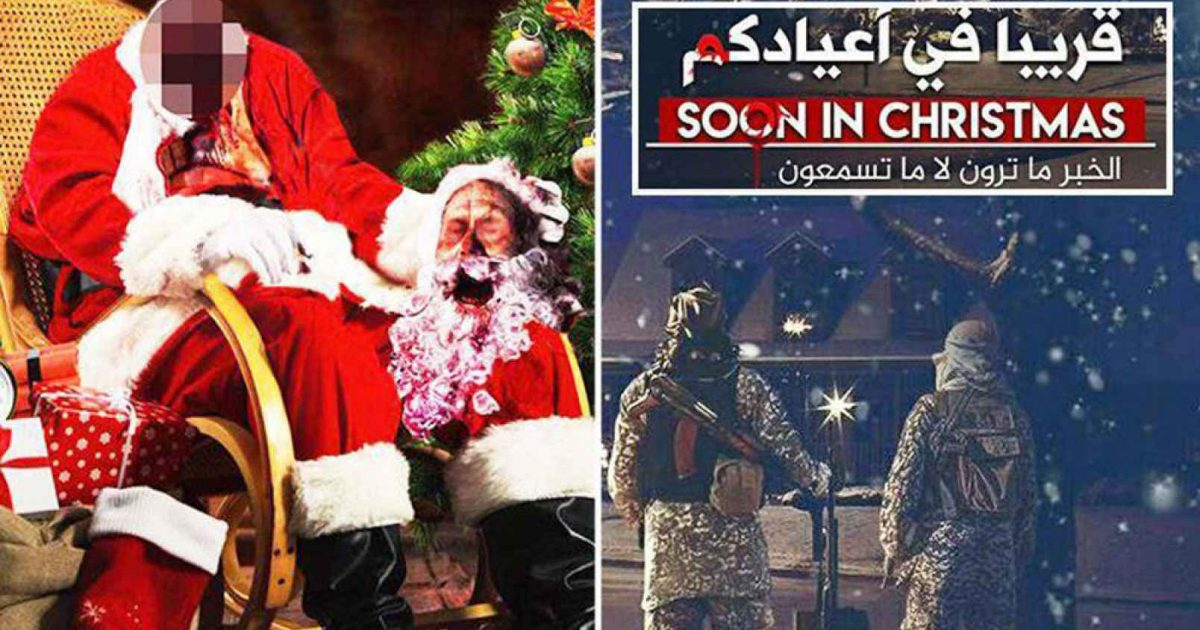 """Photo of An Islamic Christmas Greeting: """"We Are Thirsty For Your Blood"""""""