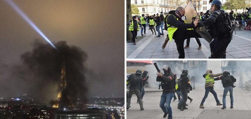 Photo of Yellow Vests Target French TV Station for Spreading 'Fake News'