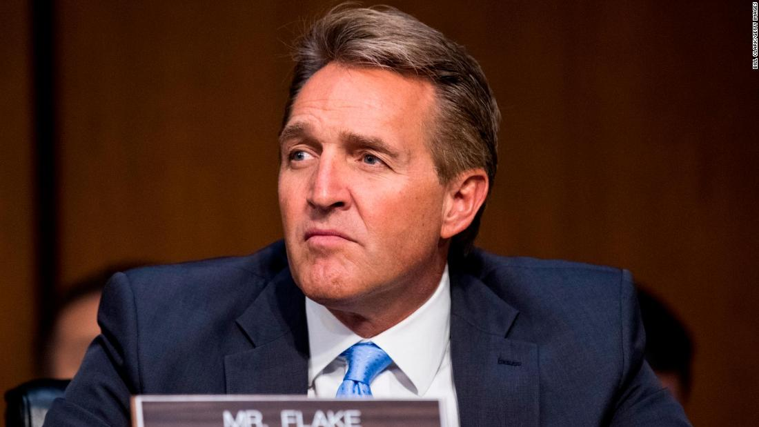 Photo of The Traitor's Payout: Jeff Flake In Talks With CBS News For Pundit Job