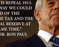 House Republicans Submit Bills To Abolish The IRS & Audit The Fed