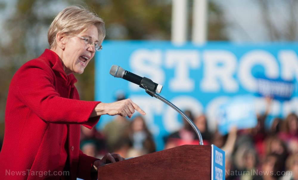 Photo of Elizabeth Warren wants the federal government to CONFISCATE your wealth at gunpoint